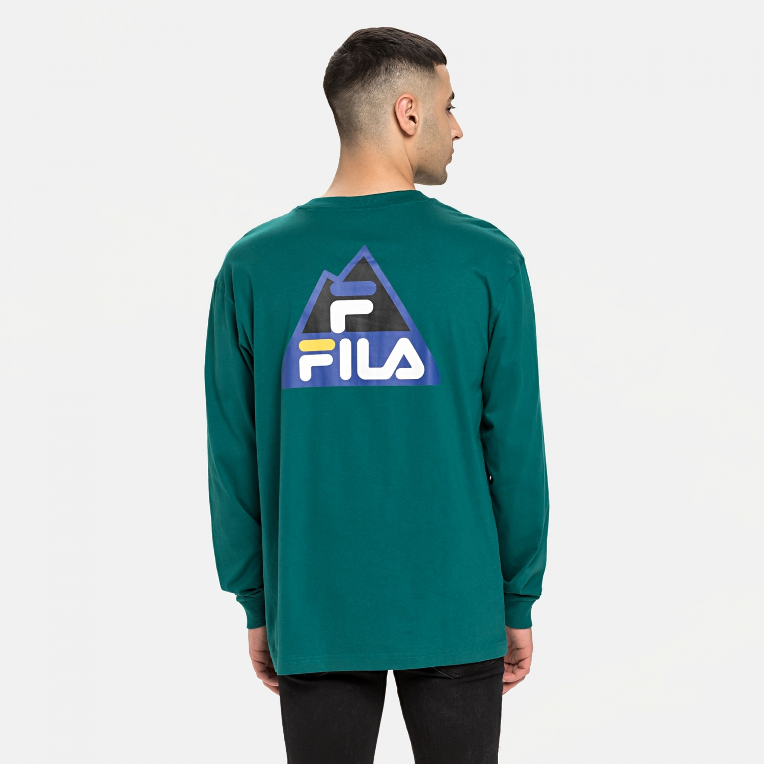 Fila Cicero Long Sleeve Shirt storm Bild 2