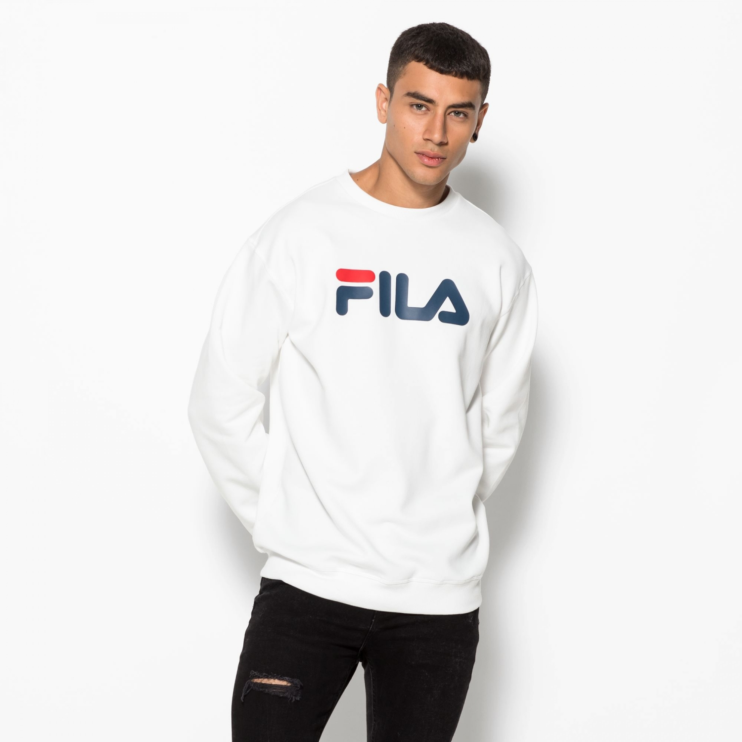 Fila Classic Pure Crew Sweat white Bild 2