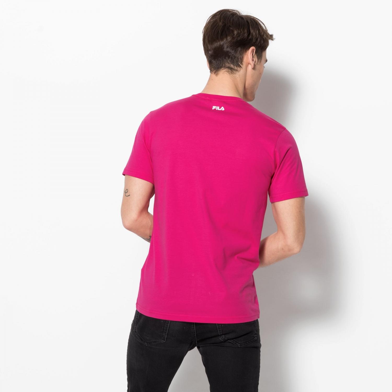Fila Classic Pure Tee pink-yarrow Bild 2