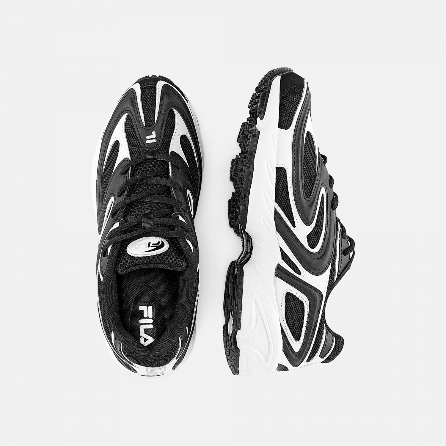 Fila Creator Men black-white-silver Bild 2