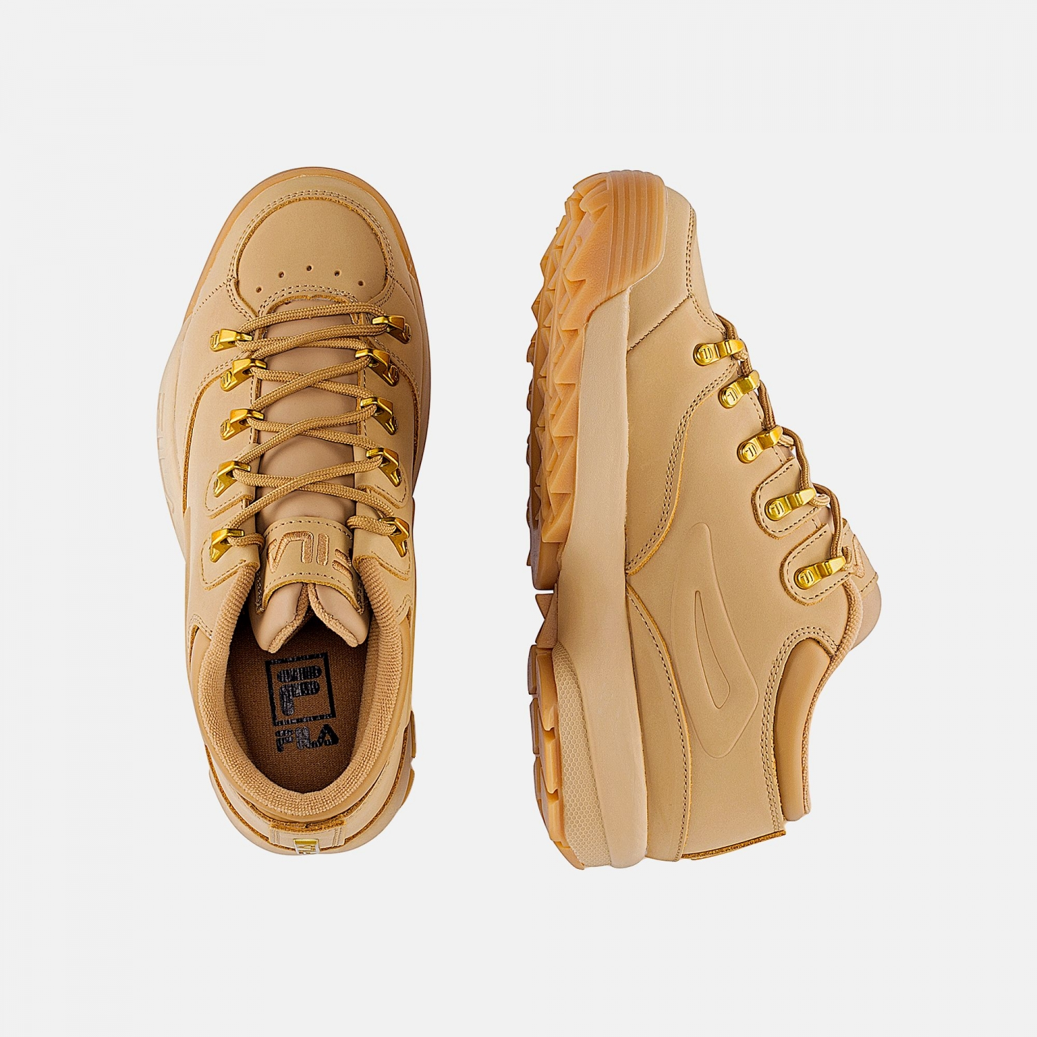 Fila Disruptor Hiker Low Wmn chipmunk Bild 2