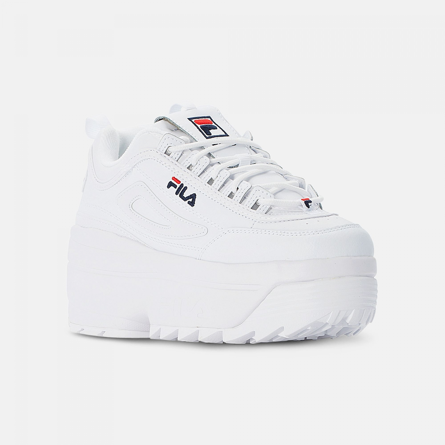 Fila Disruptor II Wedge Wmn white Bild 2