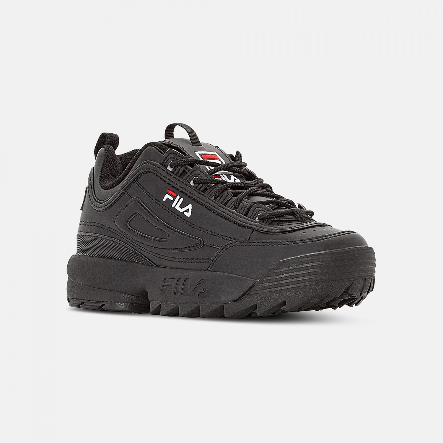 Fila Disruptor Low Wmn all black Bild 2