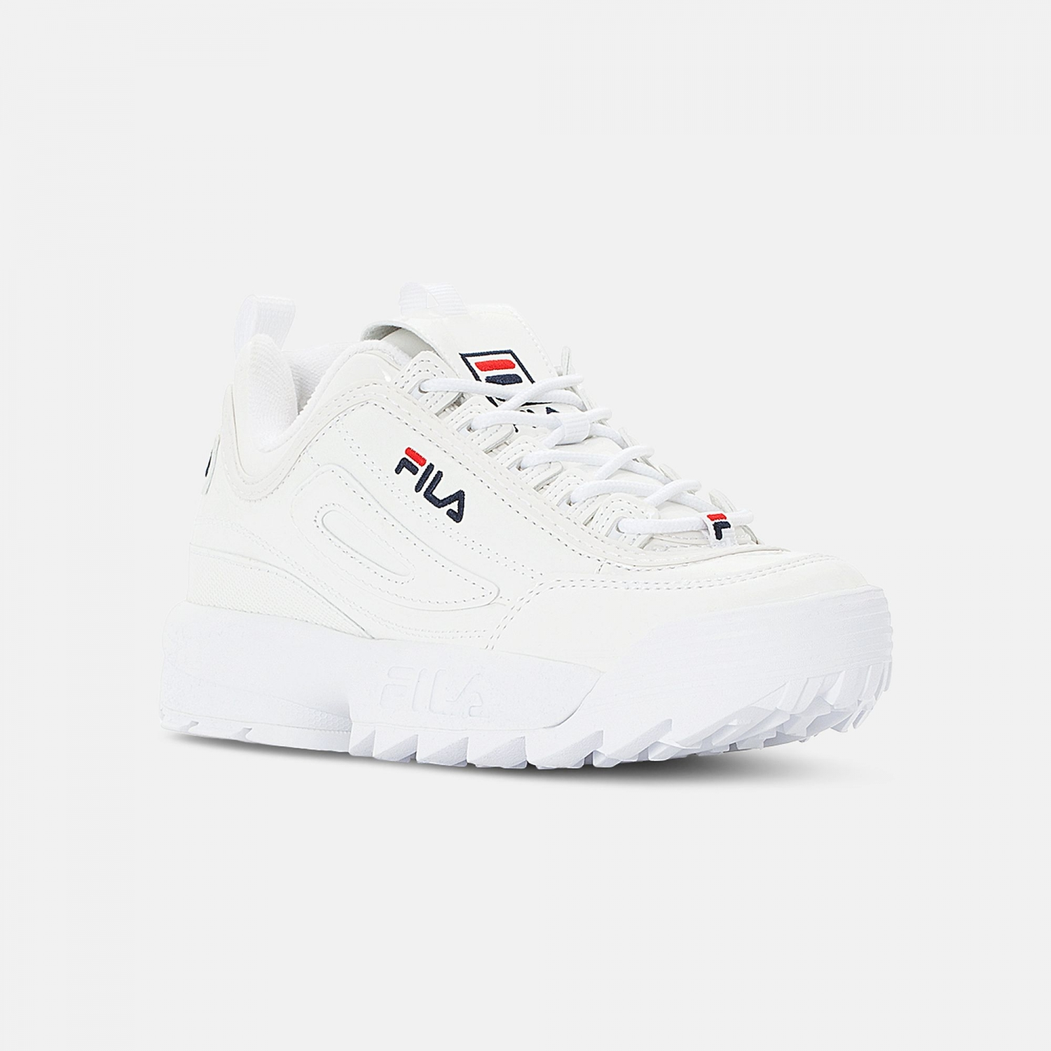 Fila Disruptor M Low Wmn shiny-white Bild 2