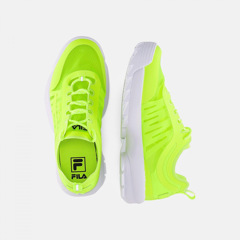 Fila Disruptor Run Men neon-lime Bild 2