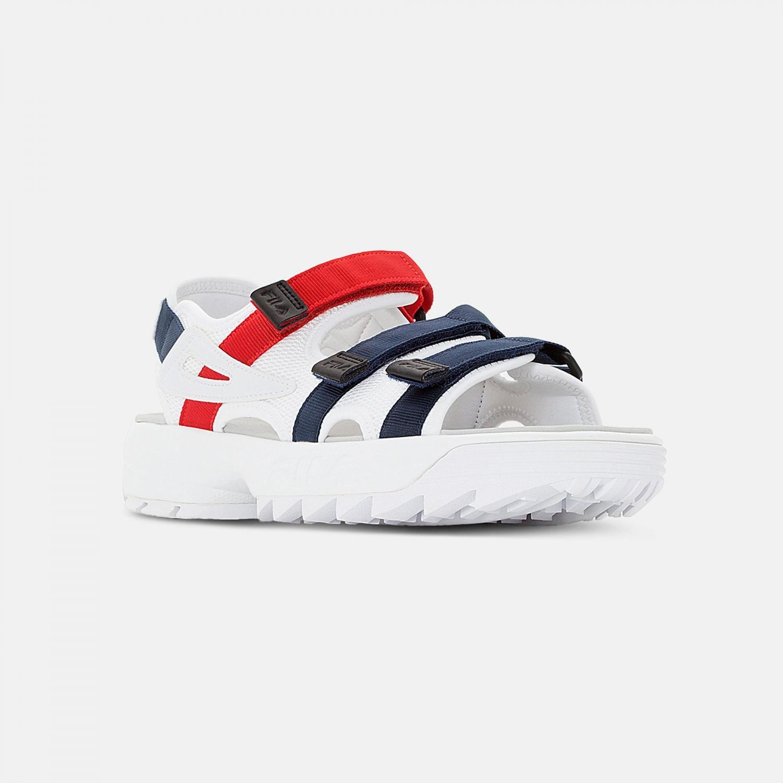 Fila Disruptor Sandal white-navy-red Bild 2