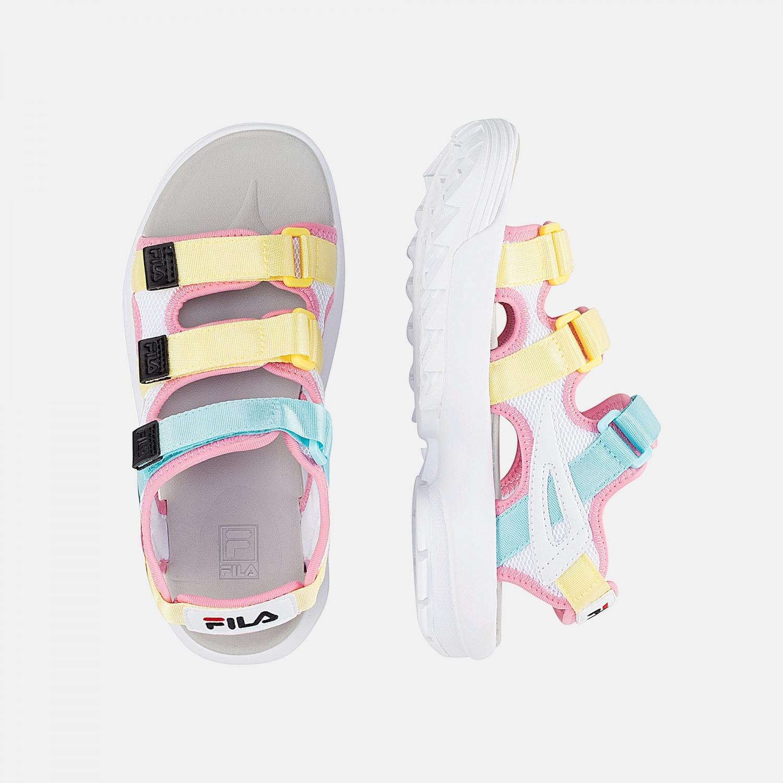 Fila Disruptor Sandal Wmn white-limelight Bild 2