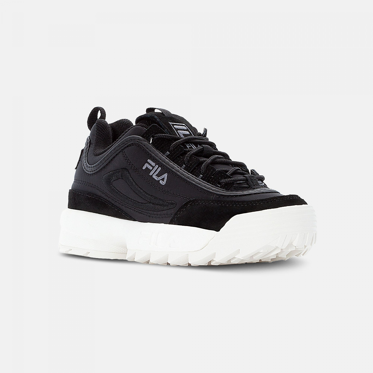 Fila Disruptor Satin Low Wmn black Bild 2