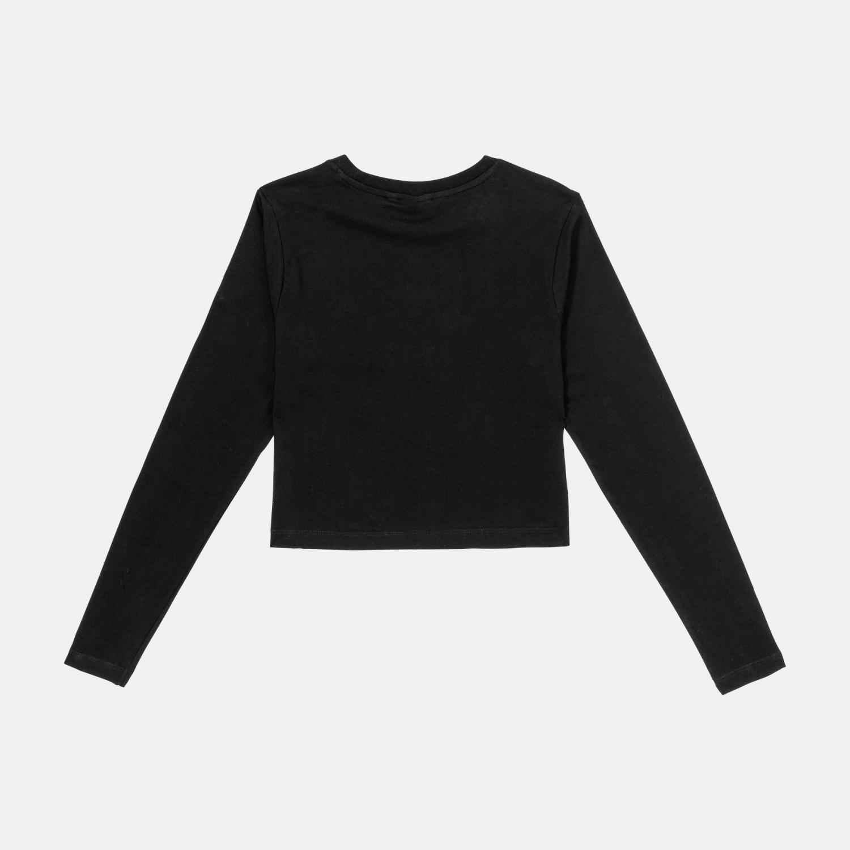 Fila Eaven Cropped Long Sleeve Shirt black Bild 2