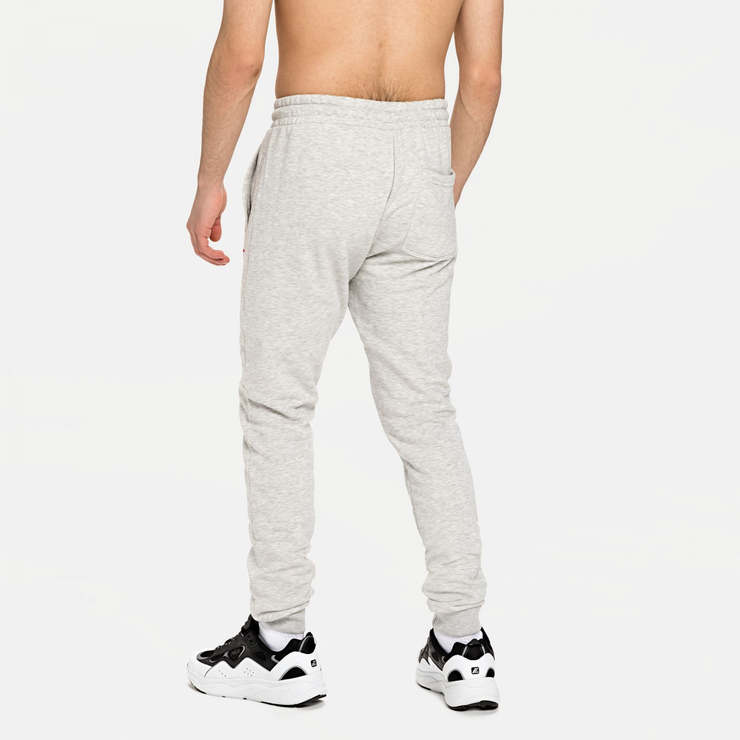 Fila Edan Sweat Pants lightgrey-melange Bild 2