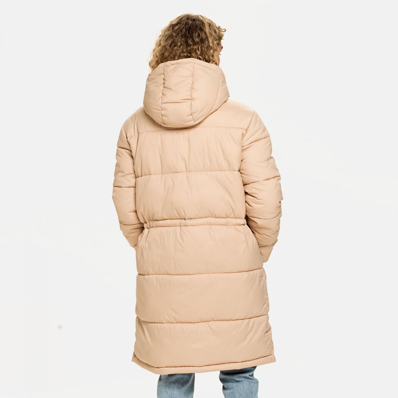 Fila Embla Long Hooded Puff Jacket cuban-sand Bild 2