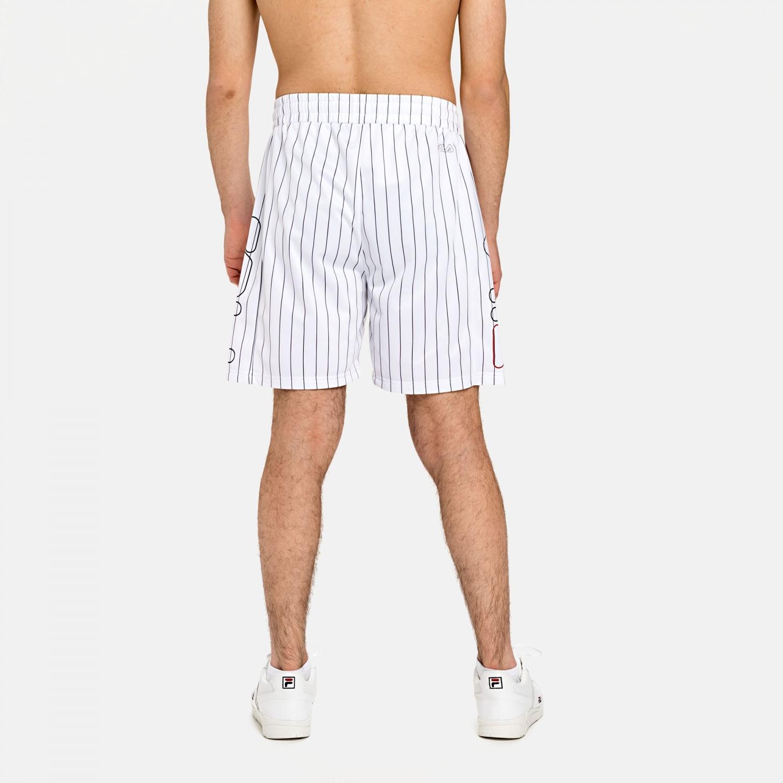 Fila Jani Striped Sporty Shorts white Bild 2