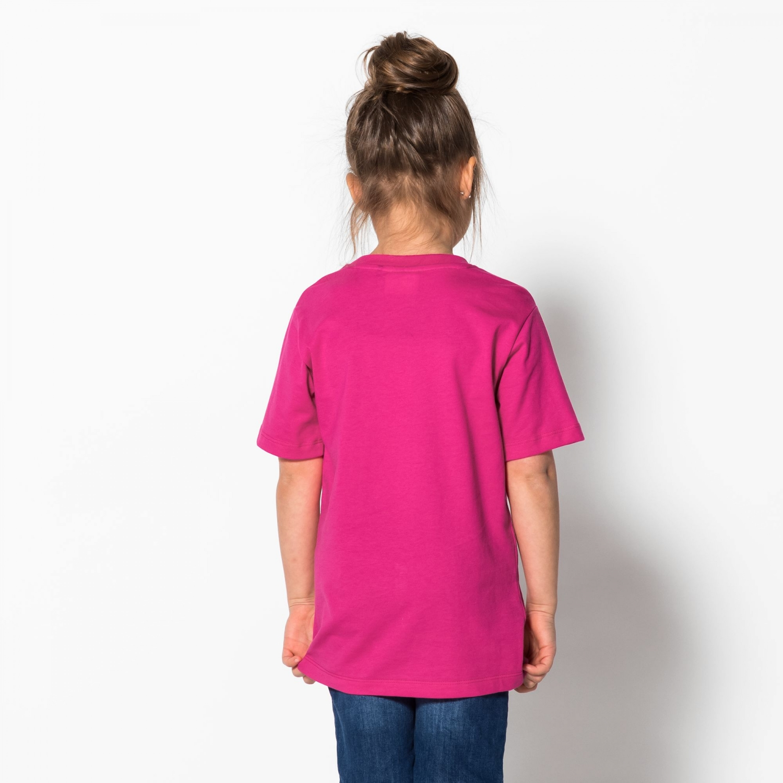 Fila Kids Classic Logo Tee pink-yarrow Bild 2