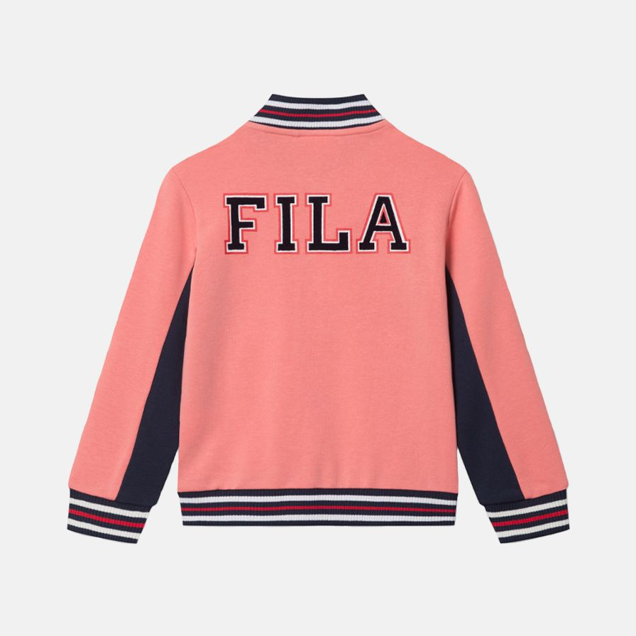 Fila Kids Girls Bella Sweat Jacket Bild 2
