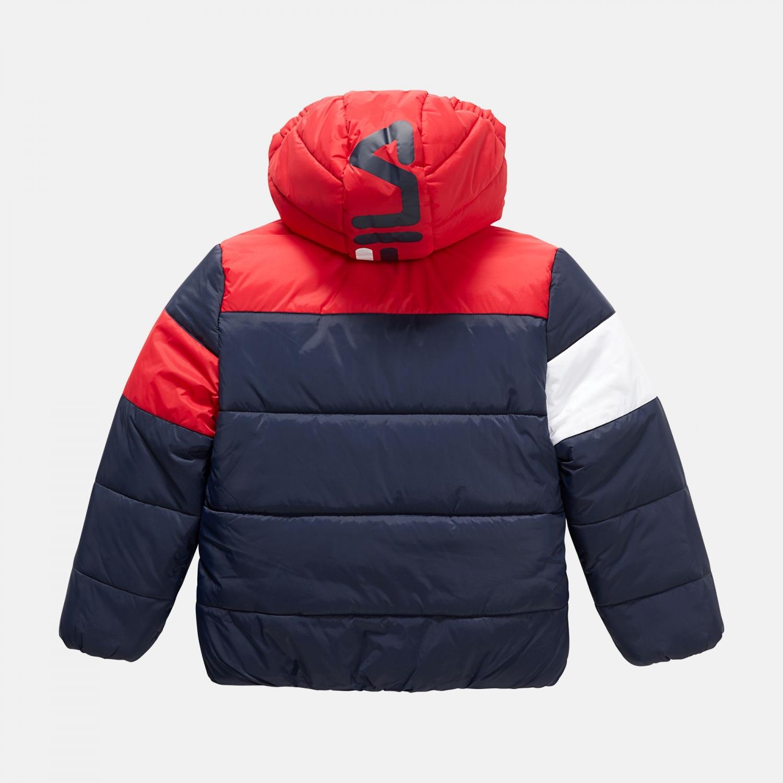 Fila Kids Lynn Puff Jacket navy-red-white Bild 2