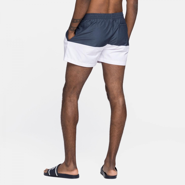 Fila Makoto Swim Shorts black-iris-white Bild 2