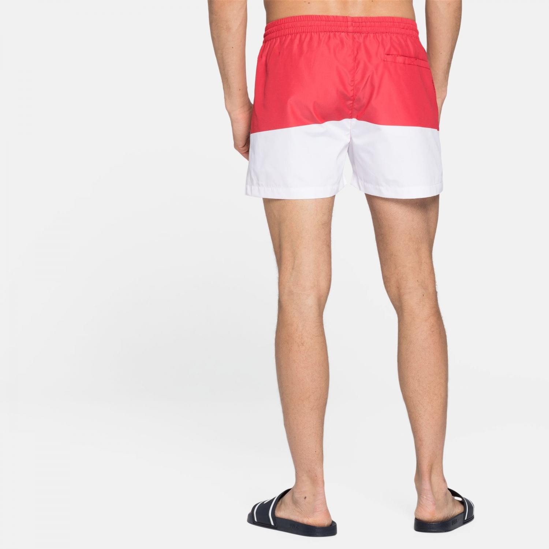Fila Makoto Swim Shorts red-white Bild 2
