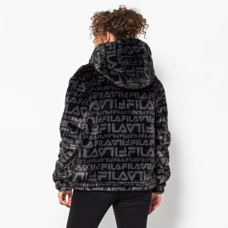 Fila Margot Hooded Fur Jacket Bild 2