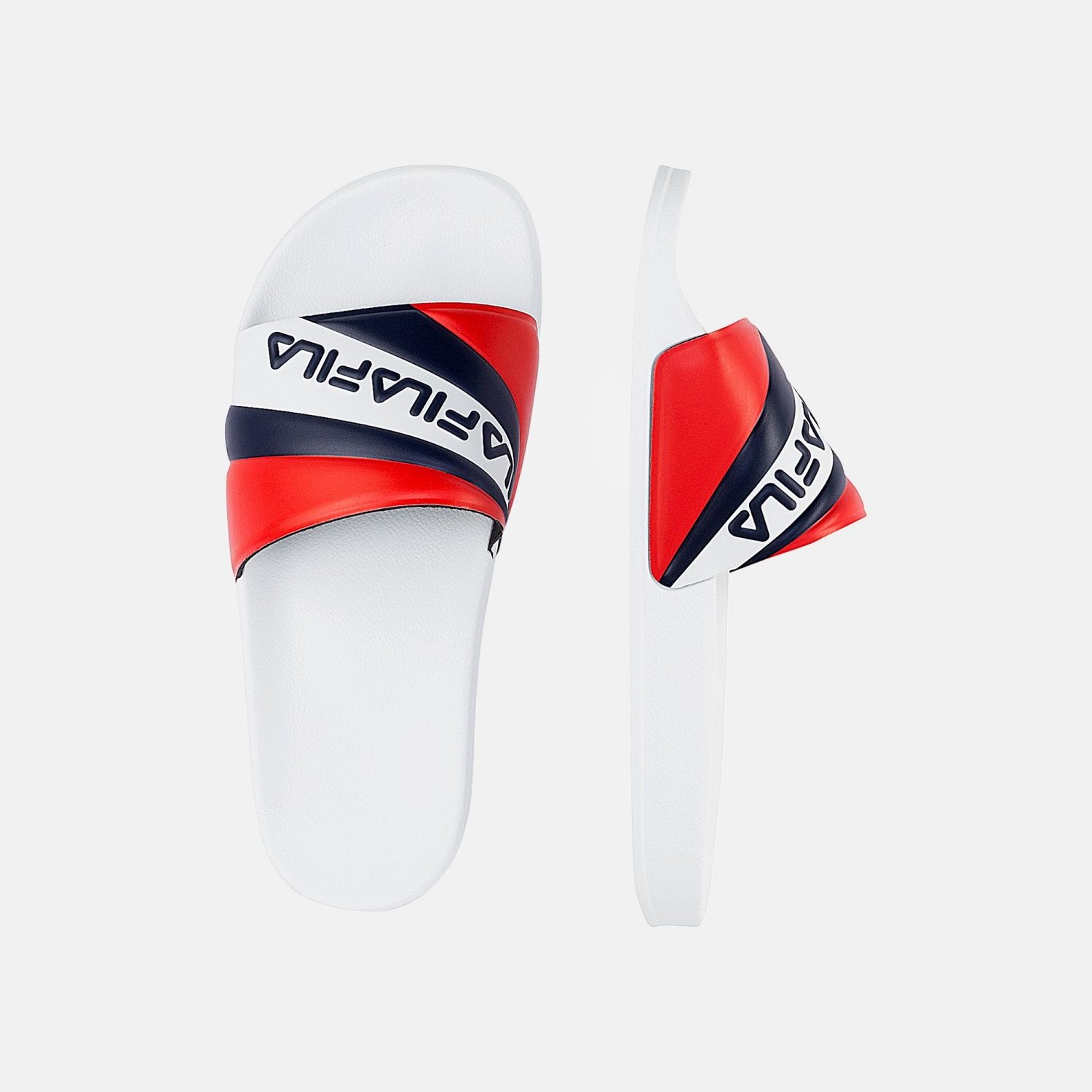Fila Marina Slipper Wmn white-navy-red Bild 2