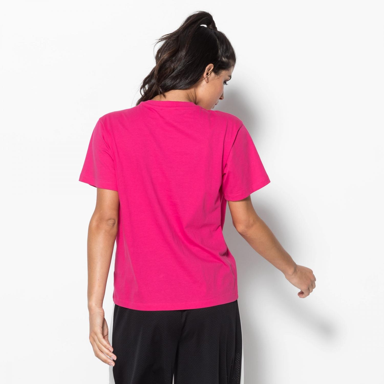 Fila Nova Cropped Tee pink-yarrow Bild 2