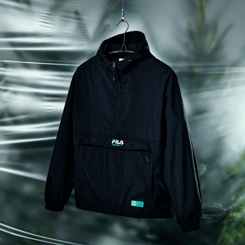 Fila Project 7 Packable Anorak black Bild 2