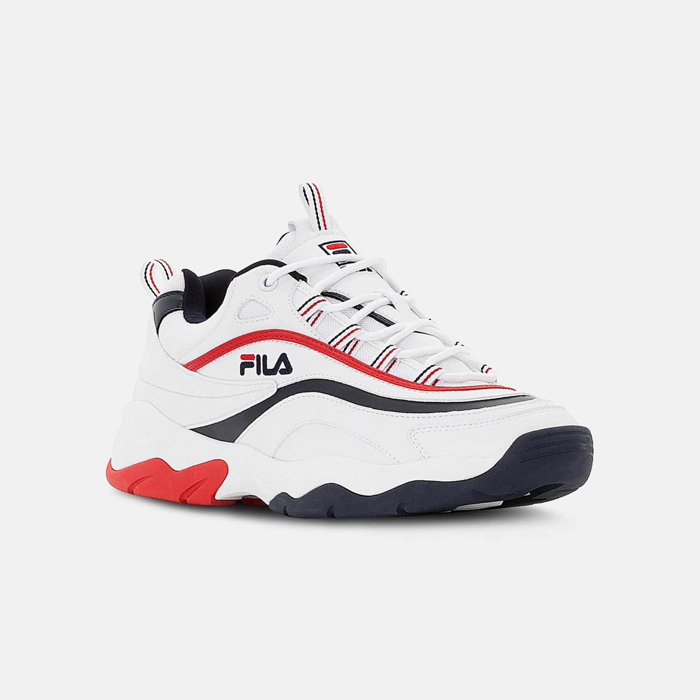 Fila Ray F Low Men white-navy-red Bild 2