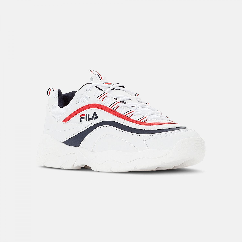 Fila Ray Low Men white-navy-red Bild 2