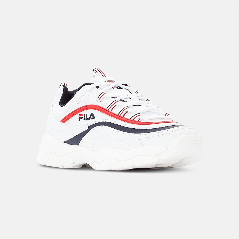 Fila Ray Low Wmn white-navy-red Bild 2