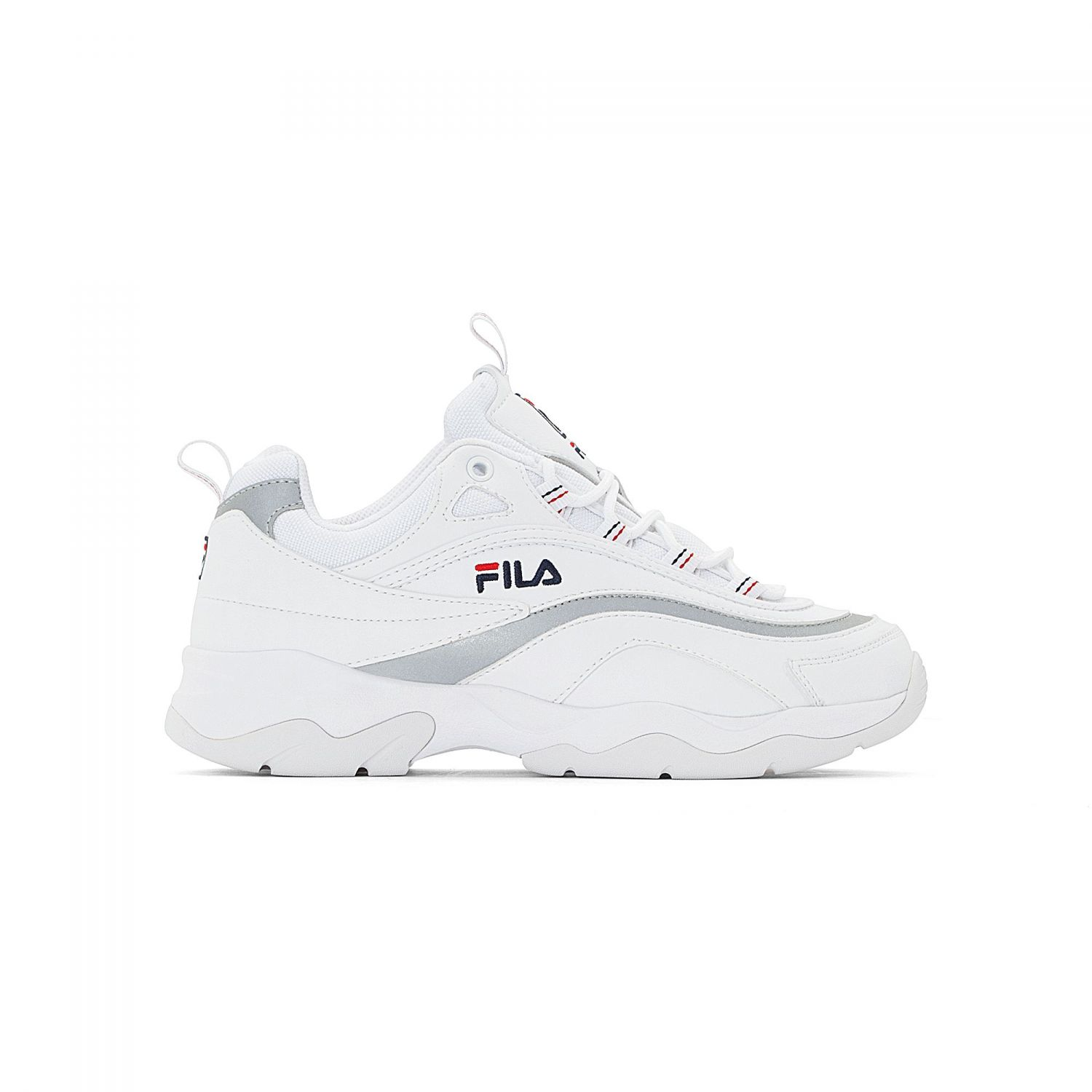 Ray SilverOfficial Wmn Low Fila White 2I9YEHDW
