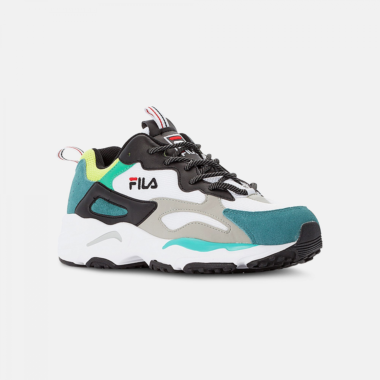 Fila Ray Tracer Men black-everglade-lime Bild 2
