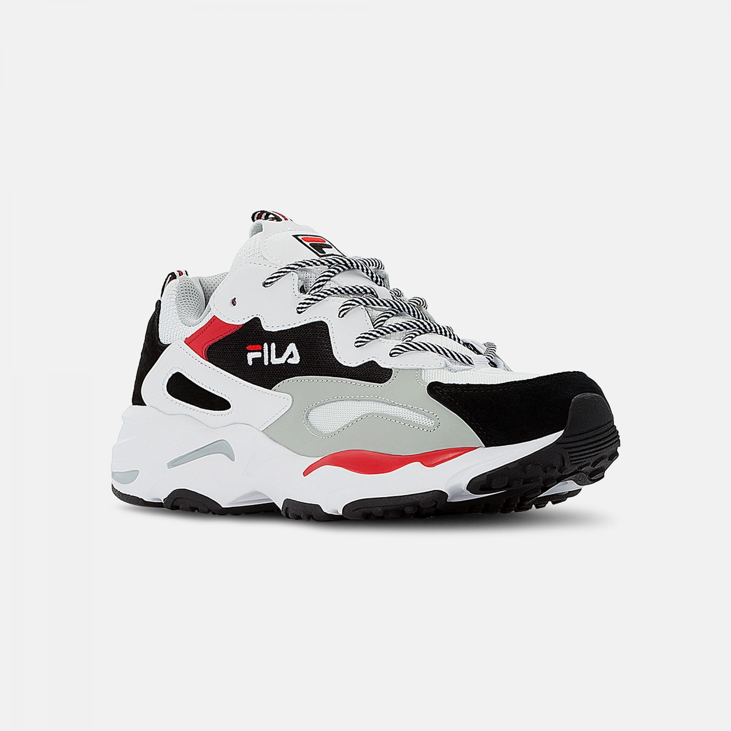 Fila Ray Tracer Men white-black-red  Bild 2