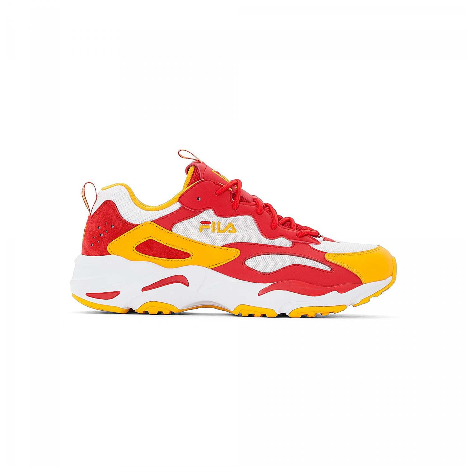 f42fd89a93 Ray Tracer Men white-yellow-fire red