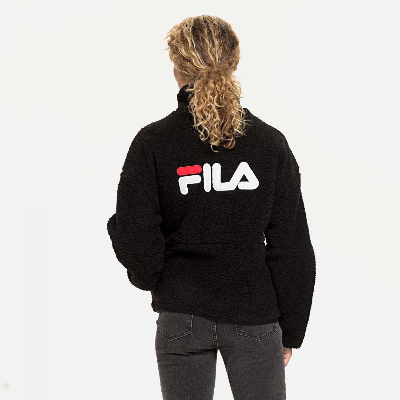 Fila Sari Sherpa Fleece Jacket black Bild 2