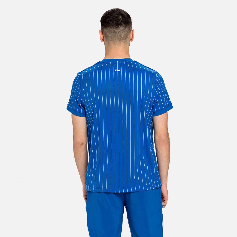 Fila Shirt Stripes blue Bild 2
