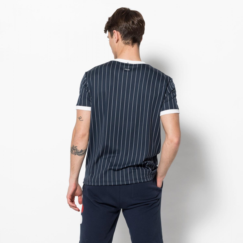 Fila Shirt Stripes peacoat Bild 2