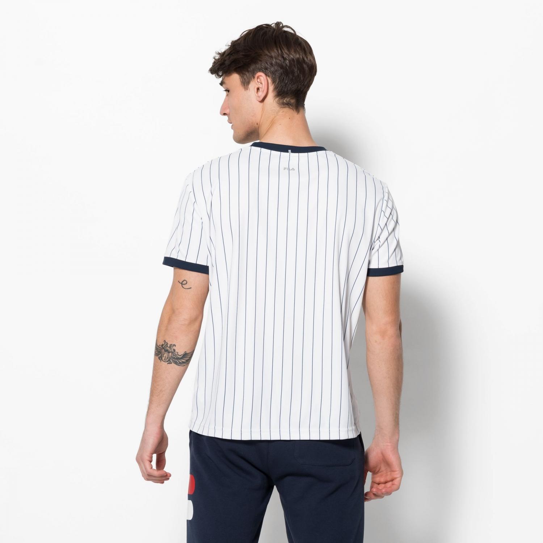 Fila Shirt Stripes white Bild 2