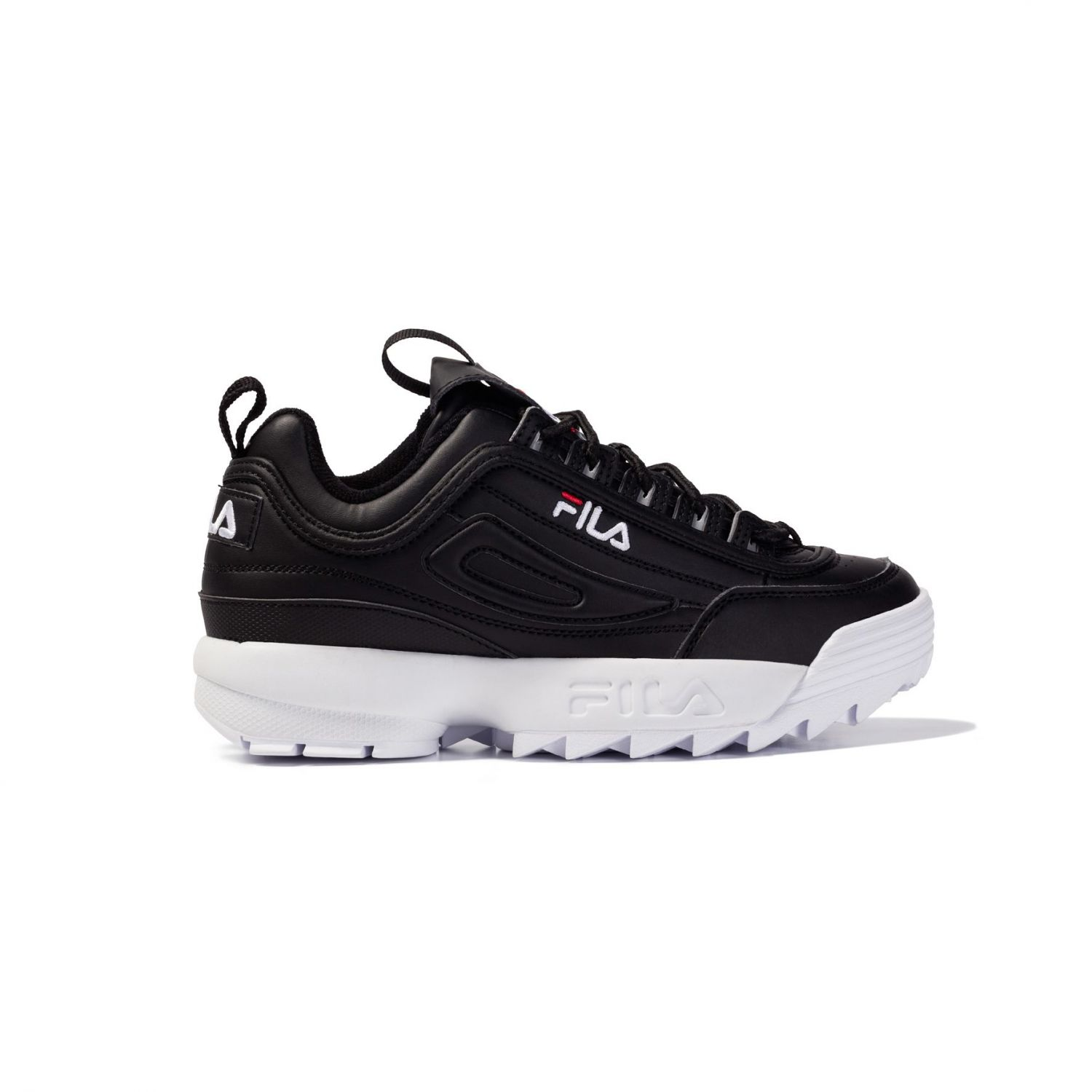 fila sneaker disruptor low 00014201566633 black fila germany. Black Bedroom Furniture Sets. Home Design Ideas