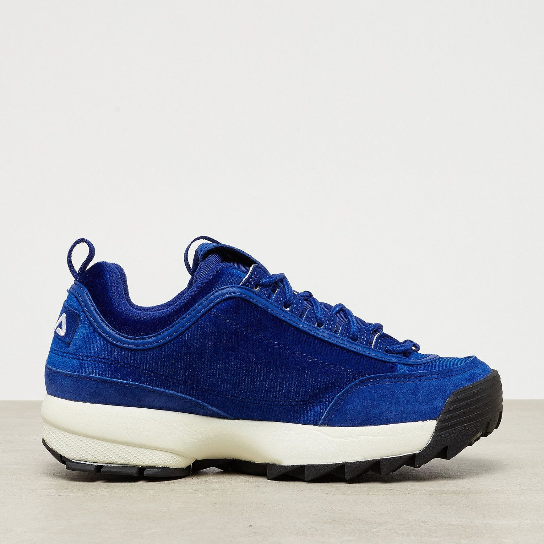 Fila Disruptor V Low W chaussures royal blue EBL9n