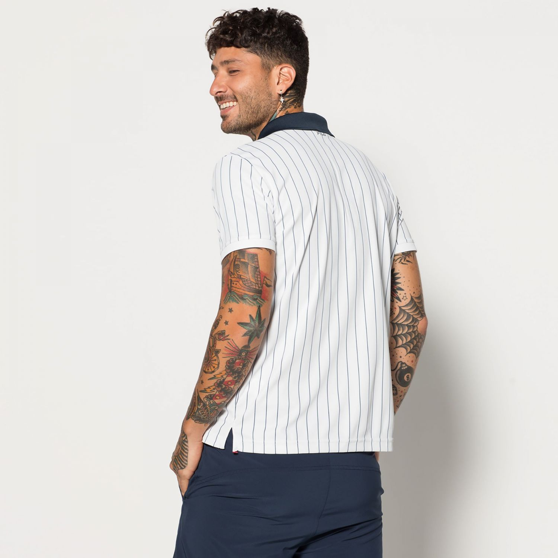 e0be5a5eff836 Fila - Stripes Polo - 00014201171806 - white