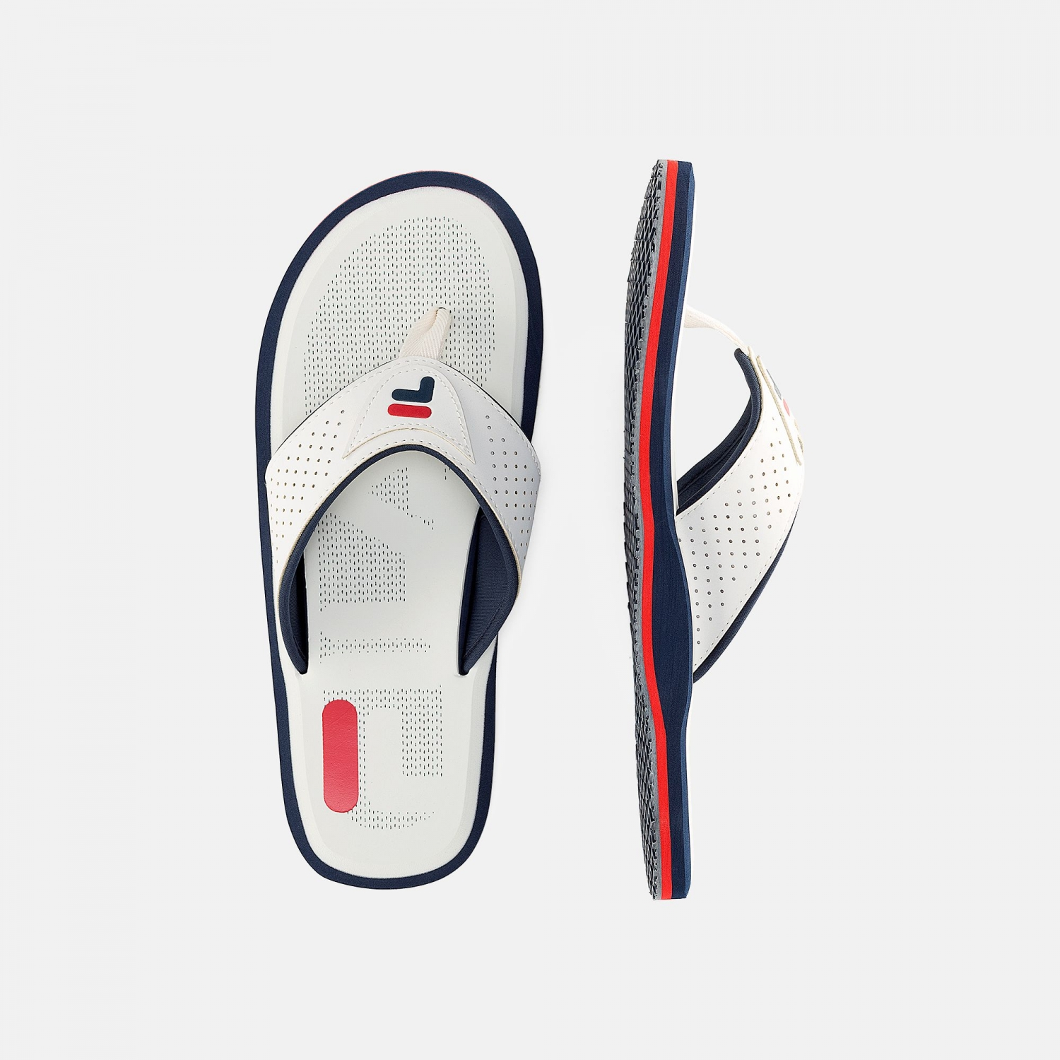 Fila Sunshine Coast Slipper Men white-navy Bild 2