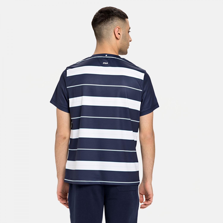 Fila T-Shirt Julian dark blue Bild 2