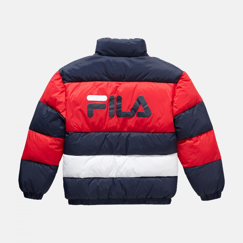 Fila Teens Betty Puff Jacket navy-red-white Bild 2