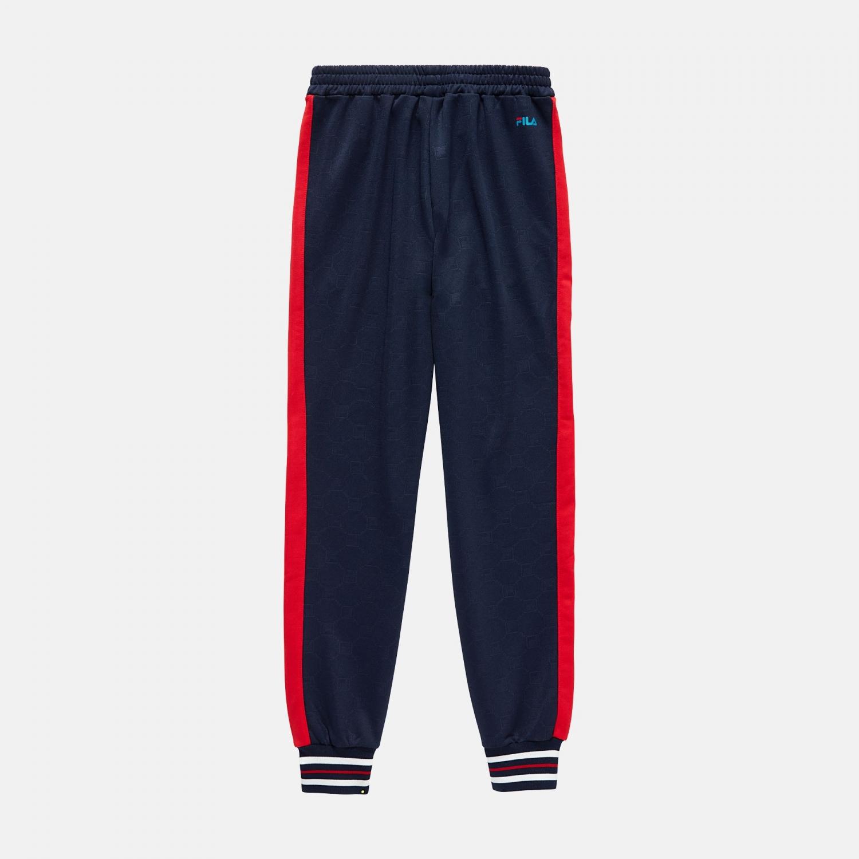 Fila Teens Otello Aop Track Pants black-iris-red Bild 2