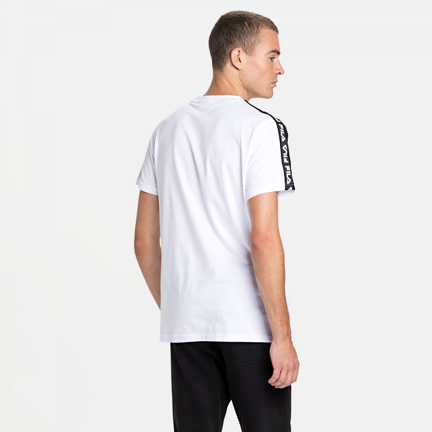 Fila Thanos Tee white-black Bild 2