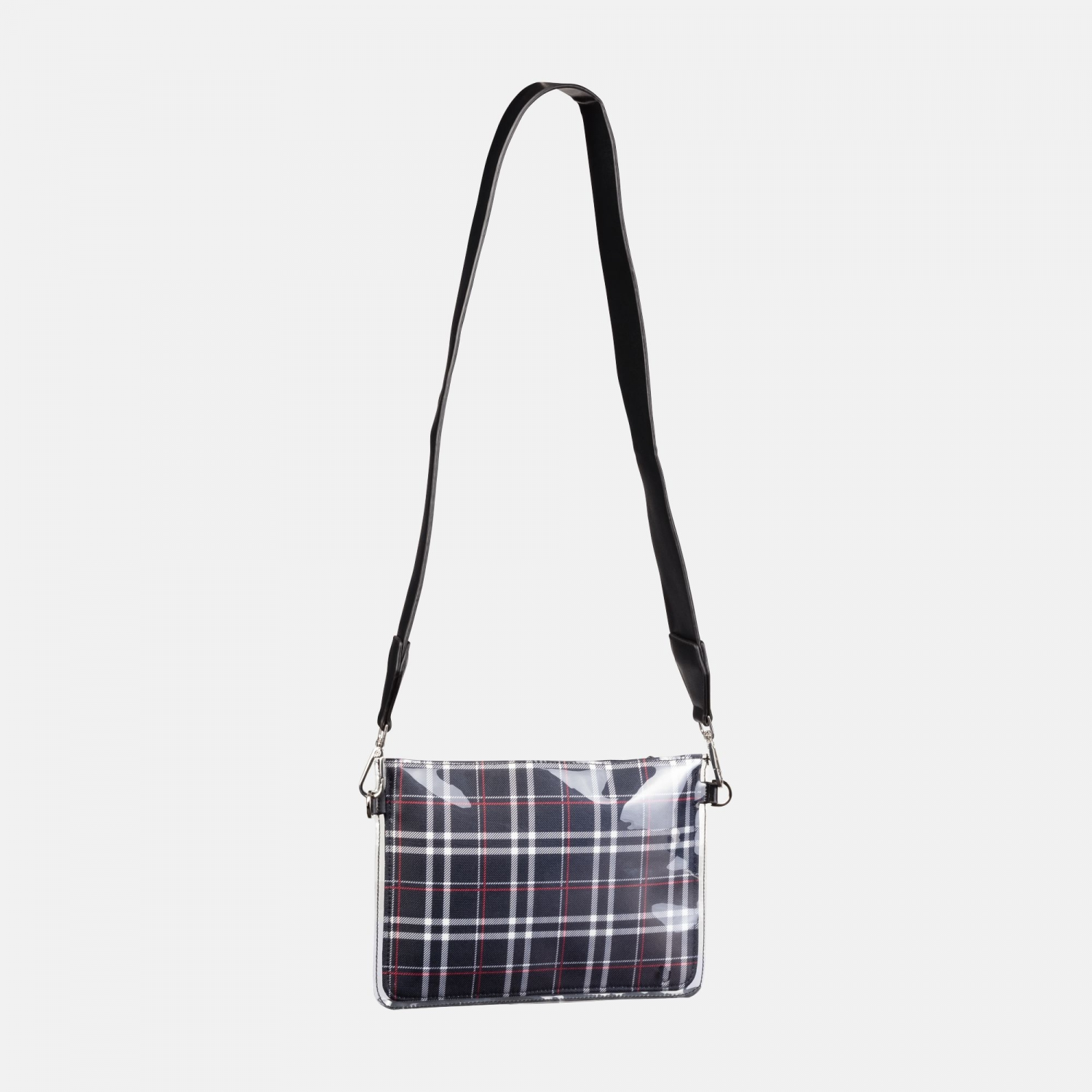 Fila Transparent Cross Body Bag black-tartan-aop Bild 2