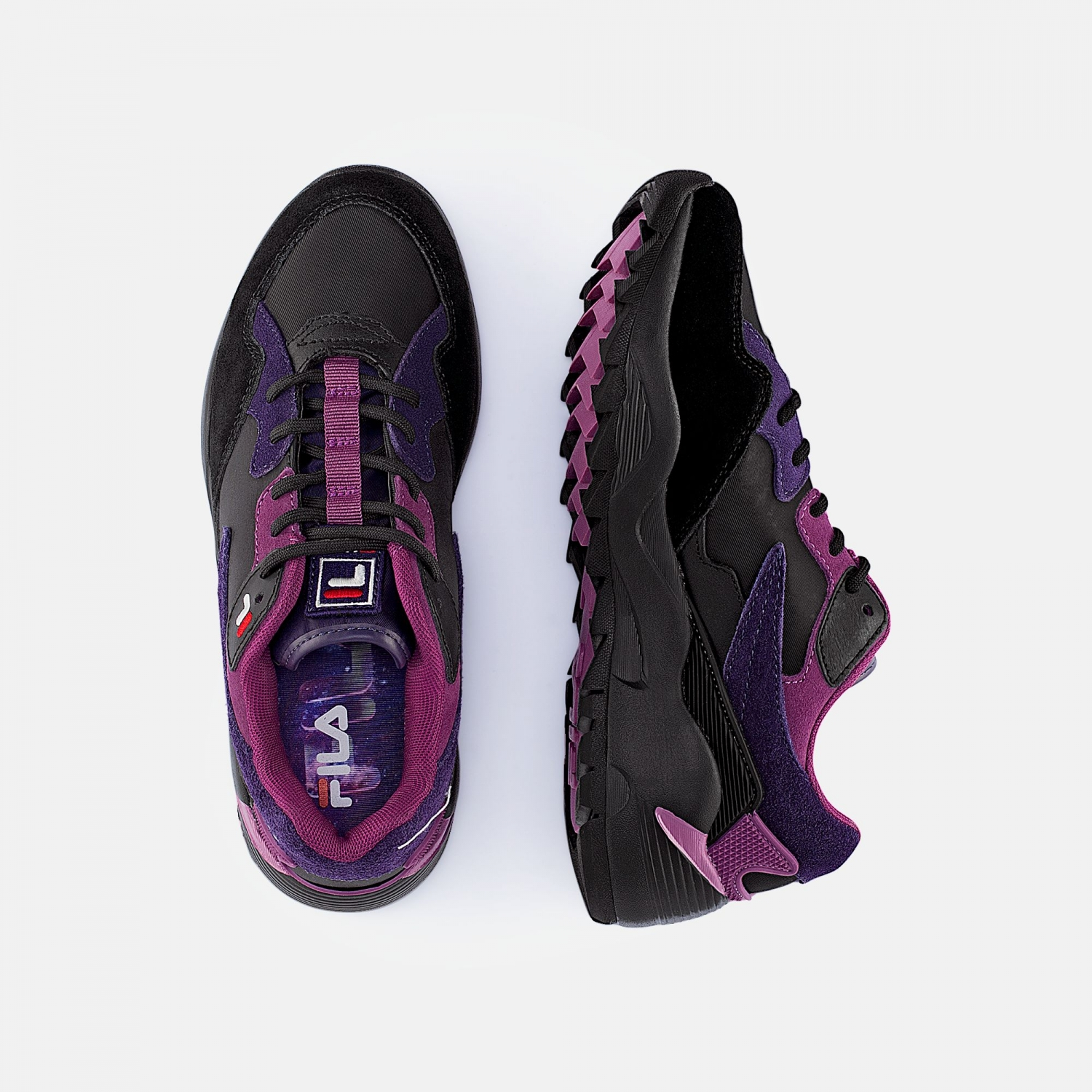 Fila Vault CMR Jogger CB Low Wmn purple-black Bild 2