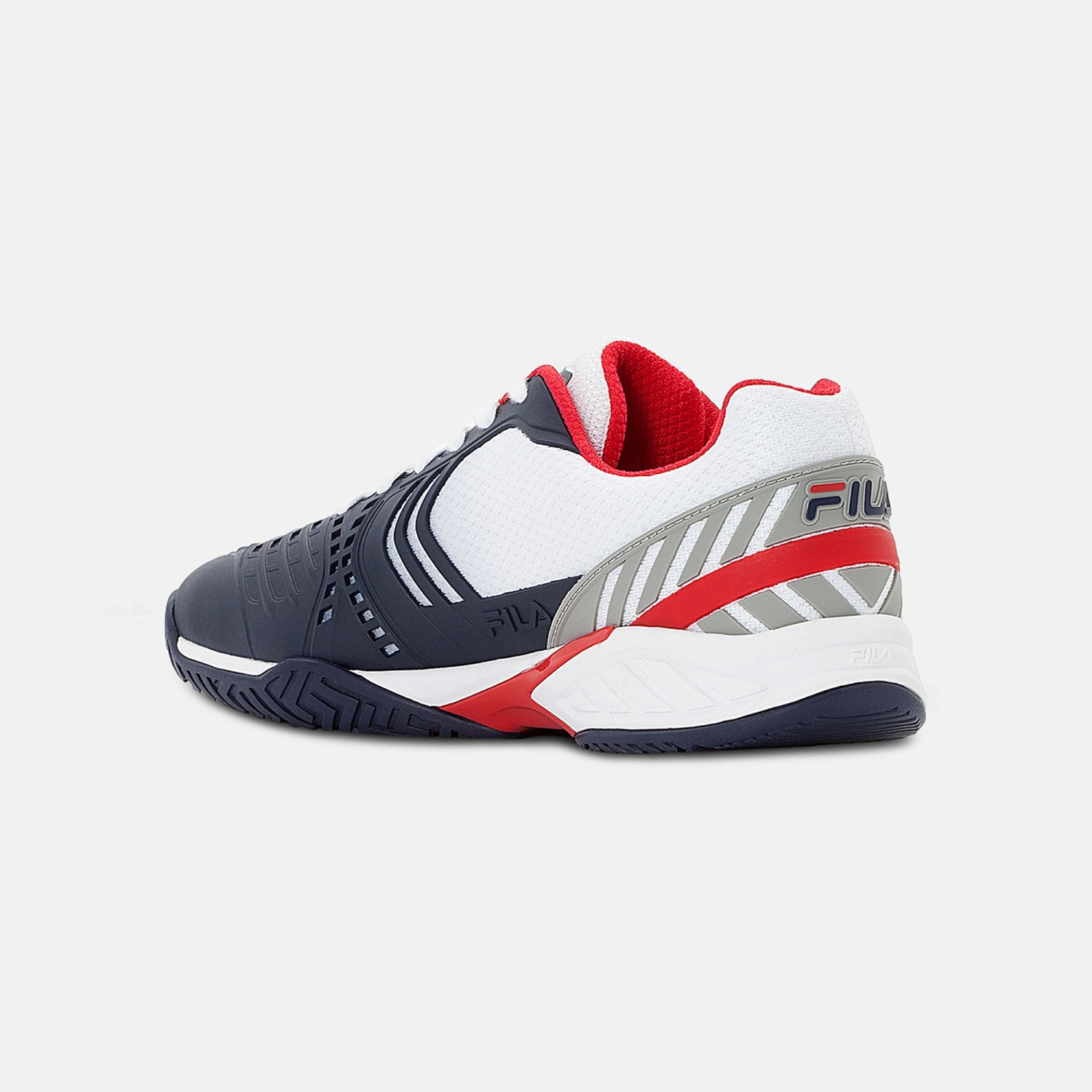 Fila Axilus 2 Energized Tennis Shoe Men white-navy-red Bild 3
