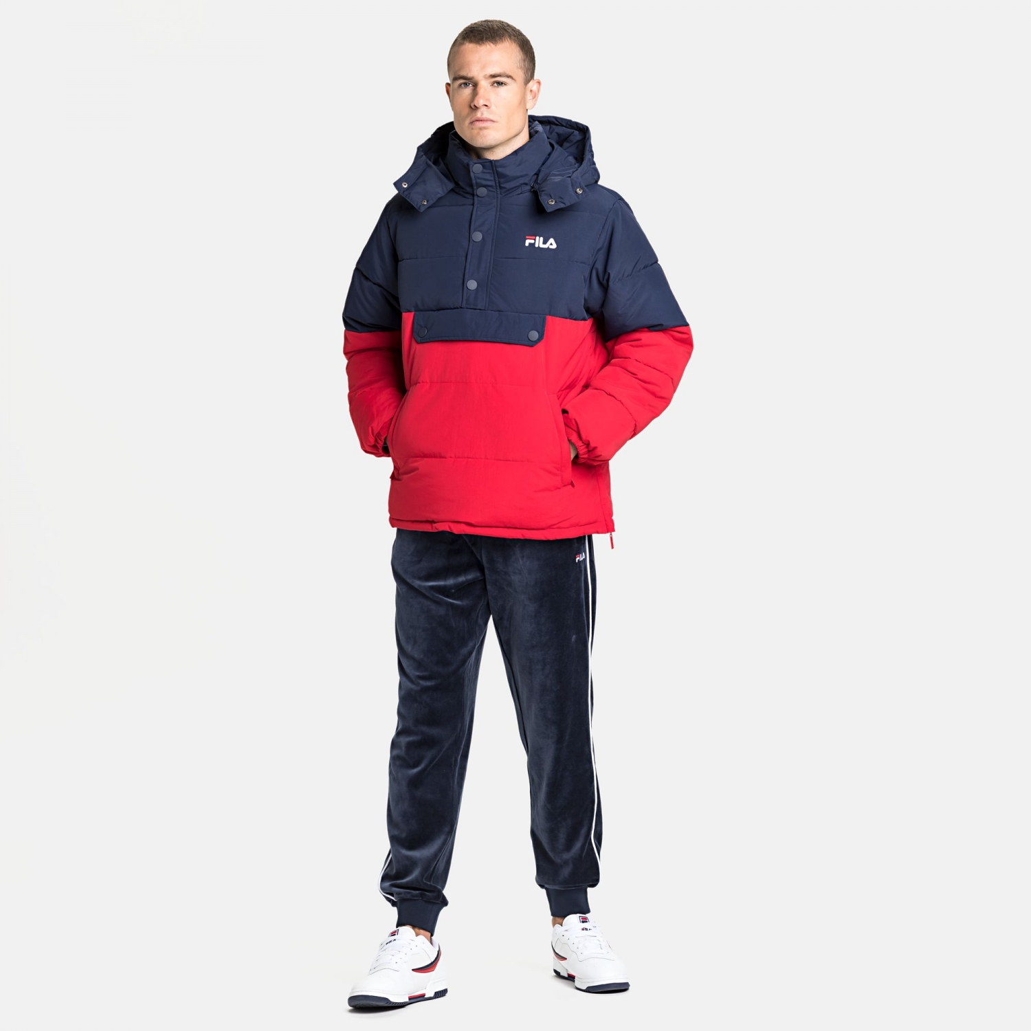 Fila Batul Blocked Puff Jacket Bild 3