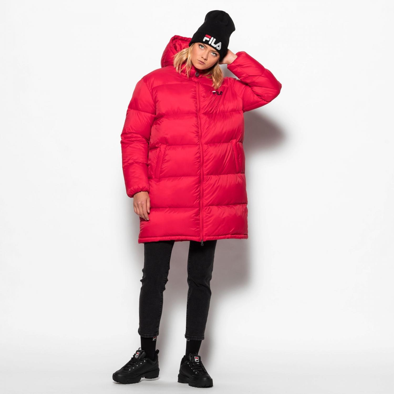 Fila Bronwen Puff Hood Jacket red Bild 3