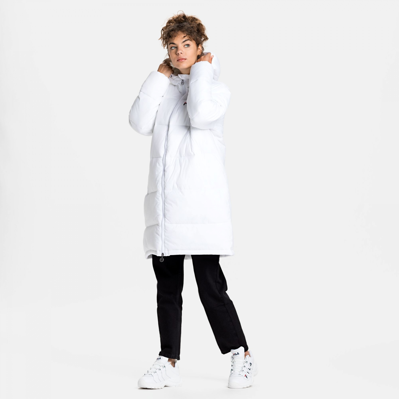 Fila Bronwen Puff Hood Jacket white Bild 3
